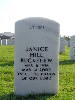 Janice <i>Hill</i> Buckelew