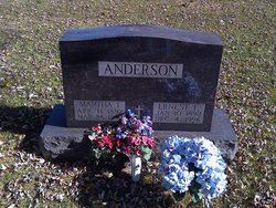 Martha <i>Olson</i> Anderson