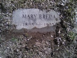 Mary (Maria) <i>Delano</i> Breda