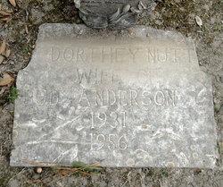 Dorothy Lorene <i>Nutt</i> Anderson