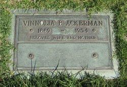 Vinnolia Belle <i>Earp</i> Ackerman