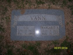 Margaret Alice <i>McLean</i> Vann