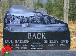Shirley <i>Gwin</i> Back