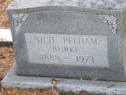 Nicie <i>Pelham</i> Burke