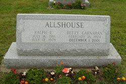 Betty Jane <i>Carnahan</i> Allshouse