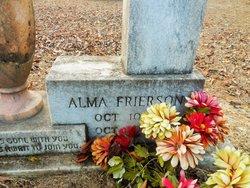 Alma <i>Frierson</i> Bradham