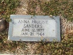 Pauline Anna <i>Byrd</i> Sanders