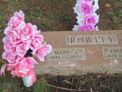 Mary Jane <i>Tarzwell</i> Rowley