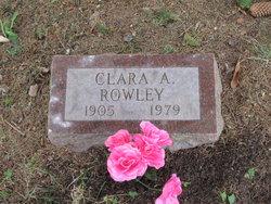 Clara A <i>Pulford</i> Rowley