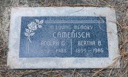 Bertha Hulda <i>Kramer</i> Camenisch