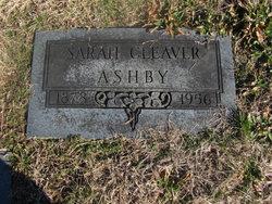 Sarah Eva <i>Cleaver</i> Ashby