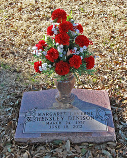 Margaret Laverne <i>Hensley</i> Denison