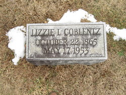 Elizabeth L Lizzie <i>Brandenburg</i> Coblentz