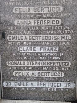 Clare Theresa <i>Franz</i> Bertucci