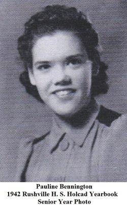 Pauline <i>Bennington</i> Ertel