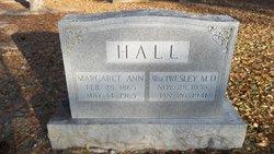 Dr William Presley Hall