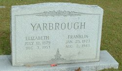 Benjamin Franklin Frank Yarbrough