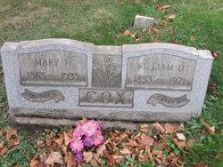Mary F Cox
