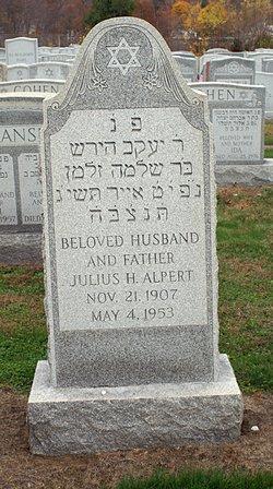 Dr Julius Harold Johnny Alpert