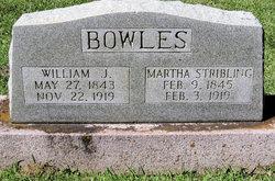 Martha Amanda Malvina Fitzallin Jane <i>Stribling</i> Bowles