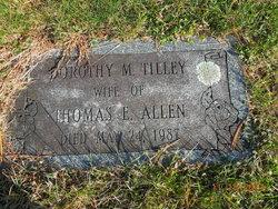 Dorothy M <i>Tilley</i> Allen