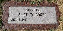 Alice M. <i>Urbanski</i> Baker