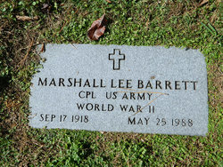 Marshall Lee Barrett