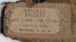 Mildred Phyllis <i>Schoening</i> Bassett