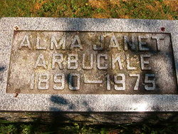 Alma Janet Arbuckle