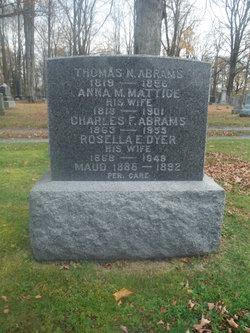 Charles F. Abrams