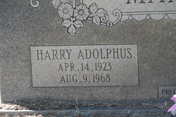 Harry Adolphus Manahan