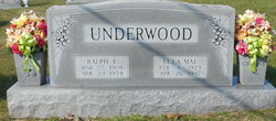 Eula Mae <i>Hawn</i> Underwood
