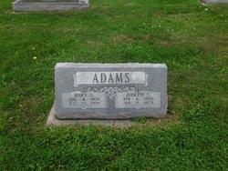 Mary A <i>Heath</i> Adams