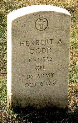Corp Herbert Ancil Dodd