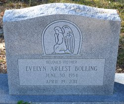 Evelyn <i>Anderson</i> Bolling