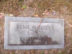 Renie M <i>Perdue</i> Barlow