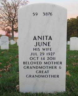 Anita June <i>Calkins</i> Lee
