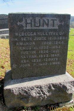 Rebecca <i>Hull</i> Hunt
