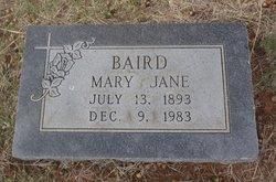 Mary Jane <i>Nettles</i> Baird