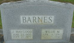 Willie Mae Barnes