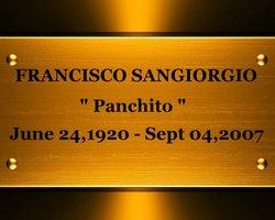 Francisco Panchito Sangiorgio