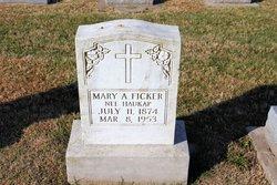 Mary A <i>Haukap</i> Ficker