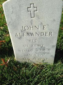 John E Alexander