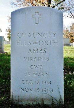 Chauncey Ellsworth Red Ambs