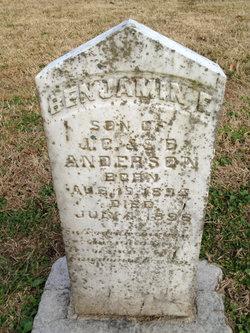 Benjamin F Anderson
