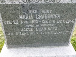 Maria Mary <i>Roeder</i> Grabinger