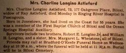 Charlene <i>Longino</i> Astleford
