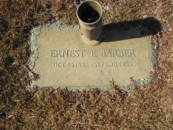 Ernest E Barber