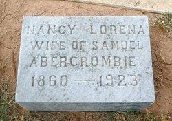 Nancy Lorena Nannie <i>Terry</i> Abercrombie