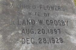 Mildred P <i>Flowers</i> Crosby